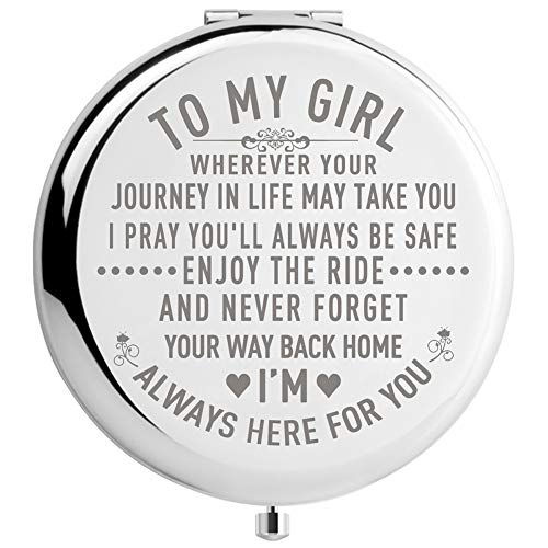 DIDADIC Daughter Gifts From Mom And Dad Unique Birthday Gift Ideas For Granddaughter Graduation Her Present Women MIR Girl Journey